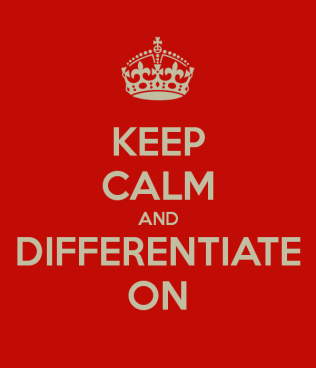 differentiate