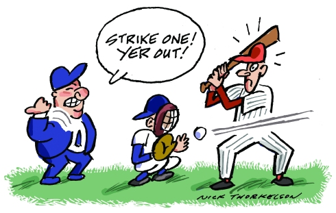strike-one-out