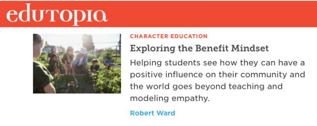 Benefit Mindset homepage